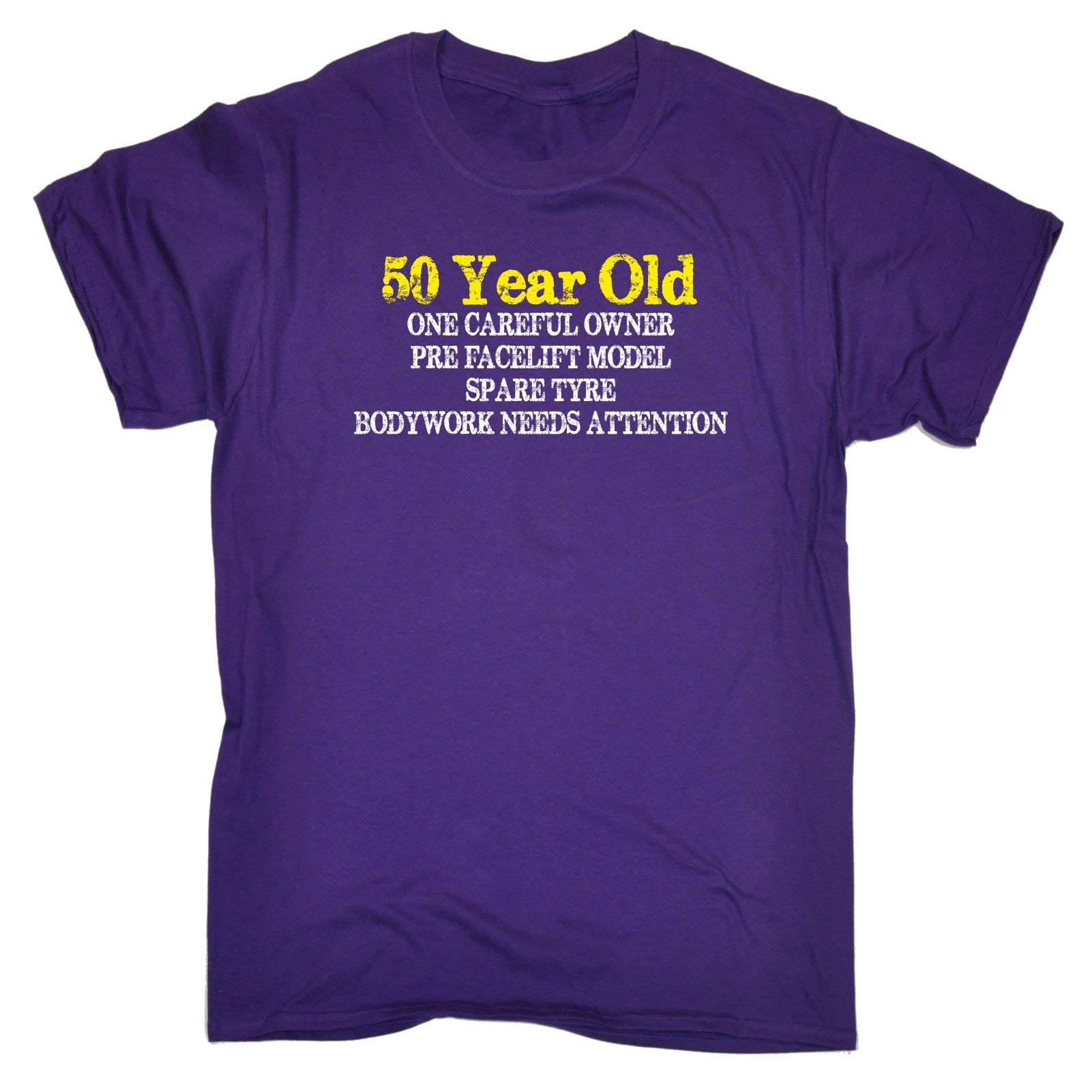 50 YEAR OLD ONE CAREFUL OWNER T SHIRT