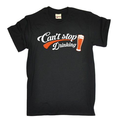 123t Men's Can't Stop Drinking Funny T-Shirt