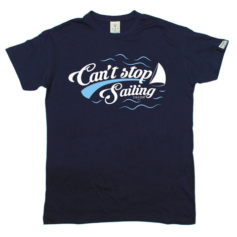 Ocean Bound Men's Can't Stop Sailing T-Shirt