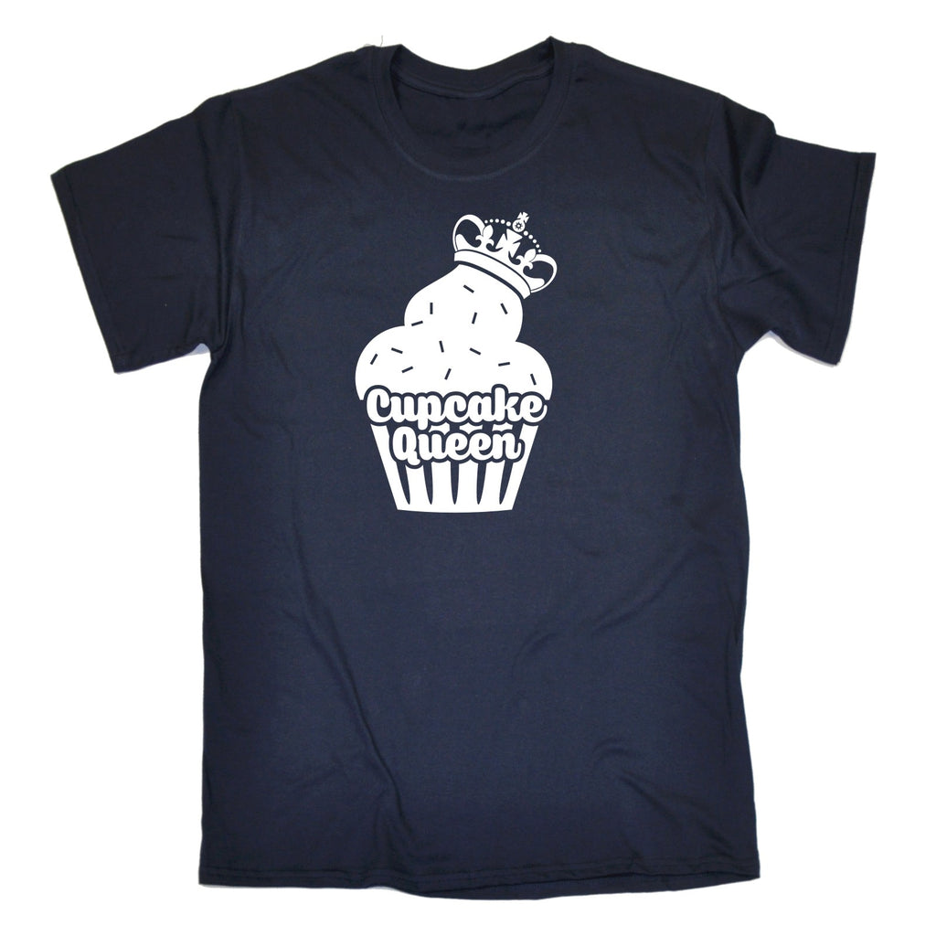 Cupcake Queen Funny Cook Cooking Cake Making Front Of House T-SHIRT
