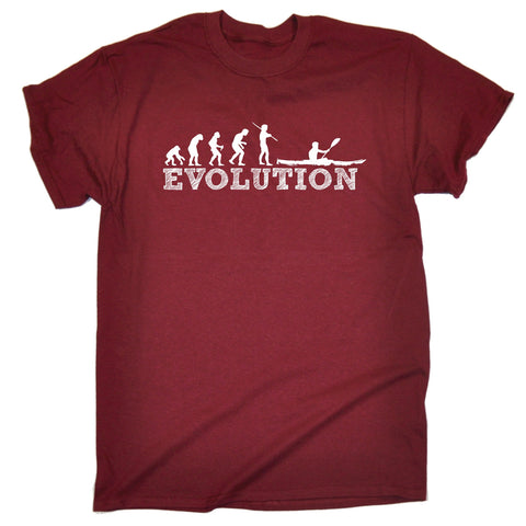 123t Men's Evolution Kayak Funny T-Shirt