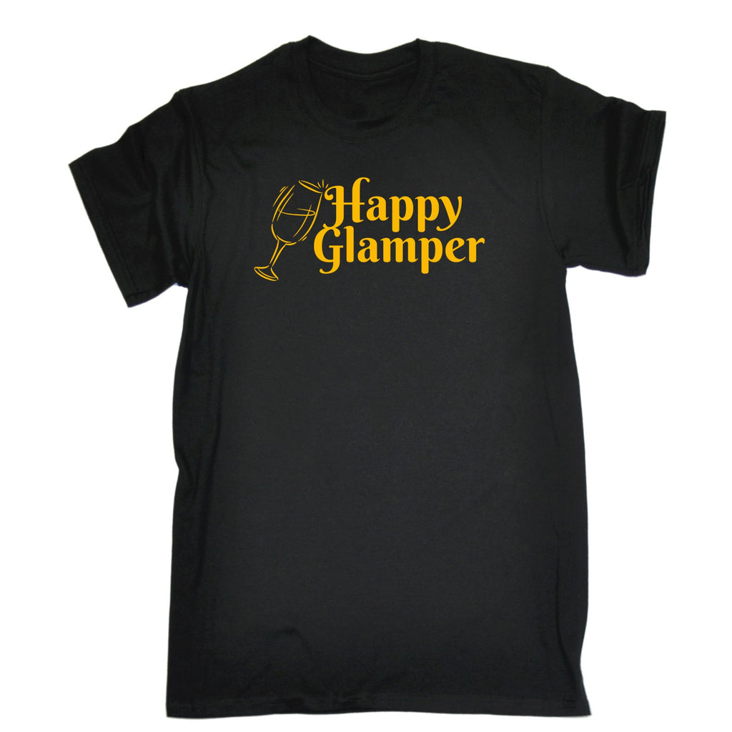 123t Men's Happy Glamper T-SHIRT