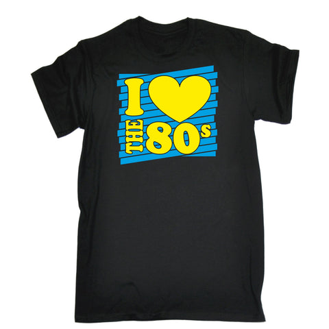 I Heart The 80s T-SHIRT Costume Retro Fancy Dress Disco eighties 80's birthday