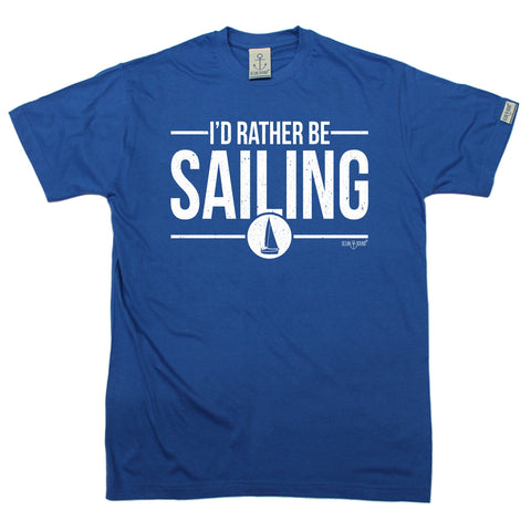 Ocean Bound Men's I'd Rather Be Sailing T-Shirt