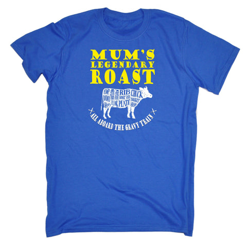 123t Men's Mum's Legendary Roast Funny T-Shirt