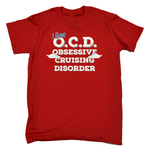 123t Men's I Have OCD Obsessive Cruising Disorder Funny T-Shirt
