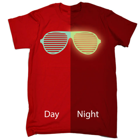 123t Men's Glow In The Dark ... Rave Sunglasses Funny T-Shirt