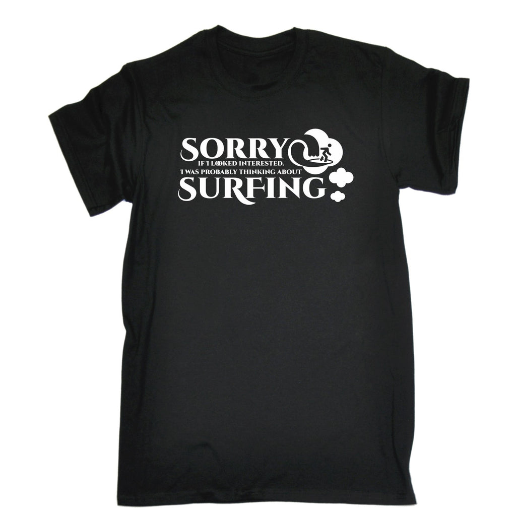 123t Men's Thinking About Surfing T-SHIRT