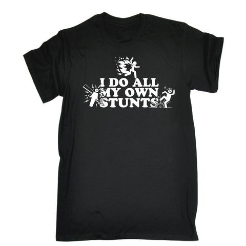 123t Men's I Do All My Own Stunts T-SHIRT