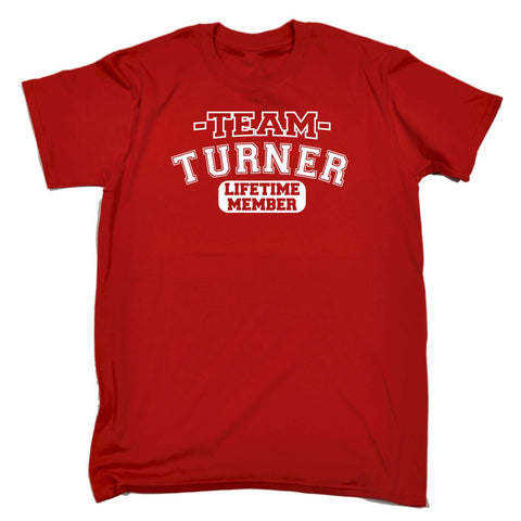 123t Men's Team Turner Lifetime Member T-SHIRT