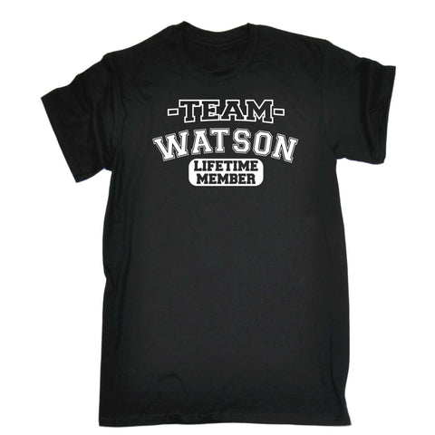 123t Men's Team Watson Lifetime Member T-SHIRT