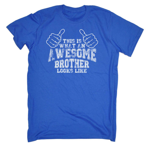 123t Mens - Awesome Brother Looks Like -  T-SHIRT