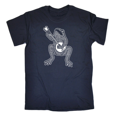 123t Men's Banjo Playing Toad Funny T-Shirt