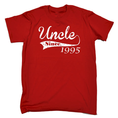 123t Men's Uncle Since ... Any Year Funny T-Shirt