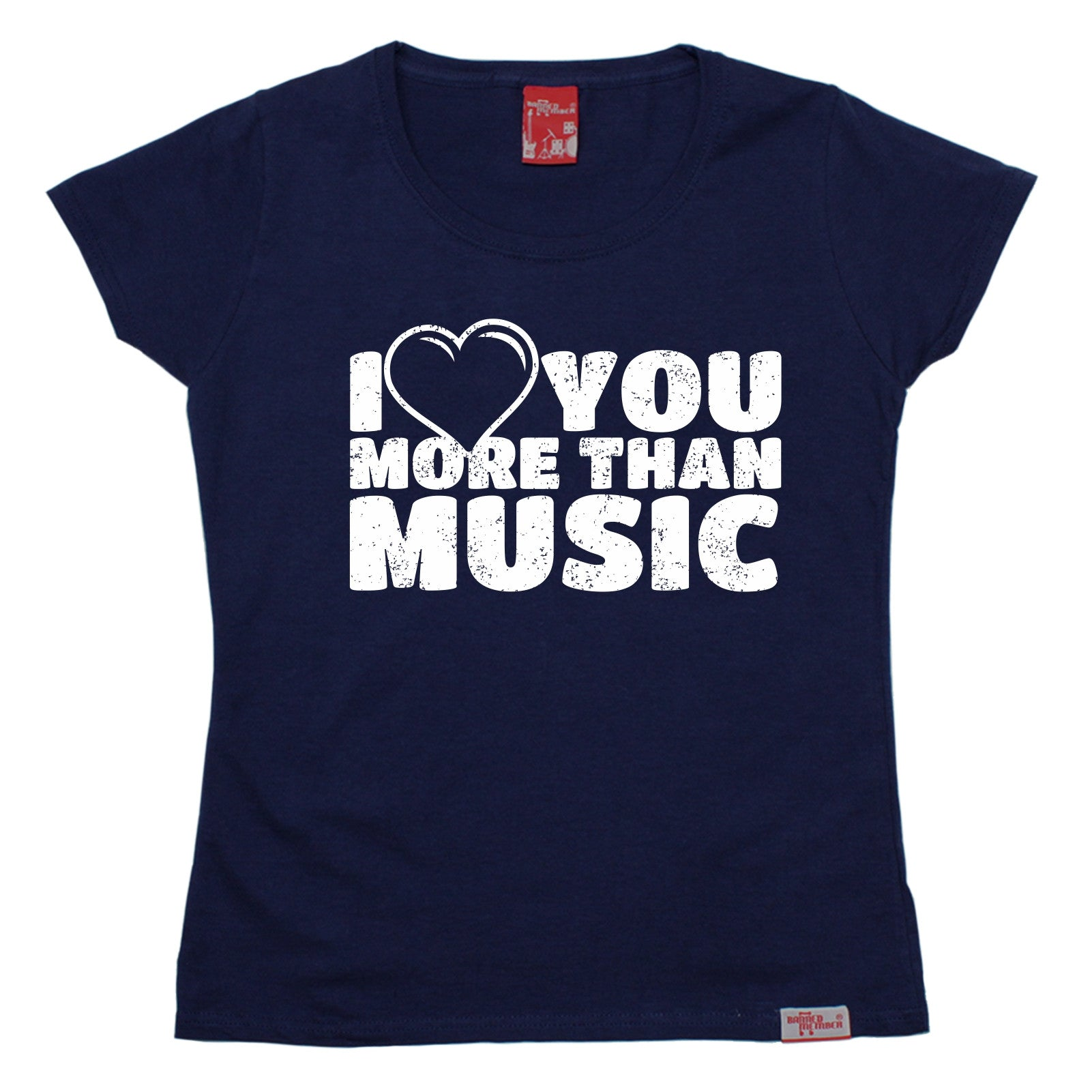 Love You More Than WOMENS T SHIRT Wife