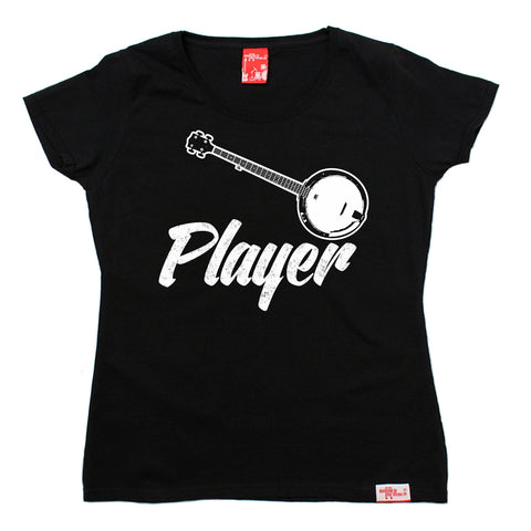 Banned Member Women's Banjo Player Guitar T-Shirt