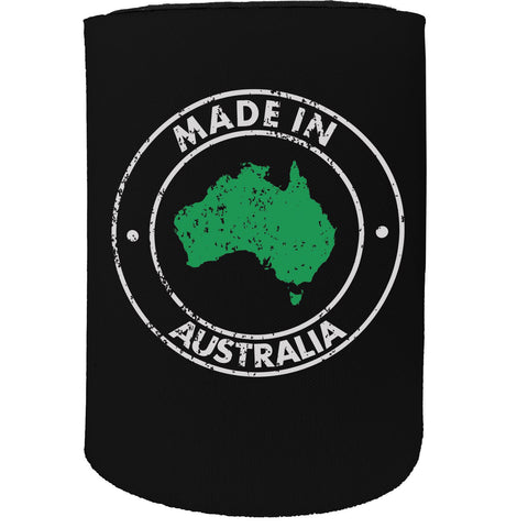 123t Stubby Holder - Made In Australia - Funny Novelty Birthday Gift Joke Beer Can Bottle