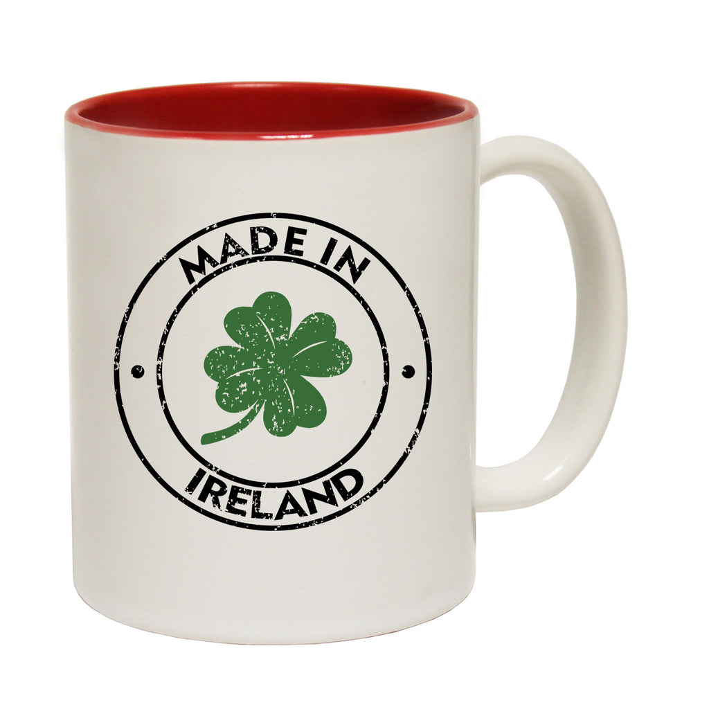 123t Made In Ireland Funny Mug, 123t Mugs