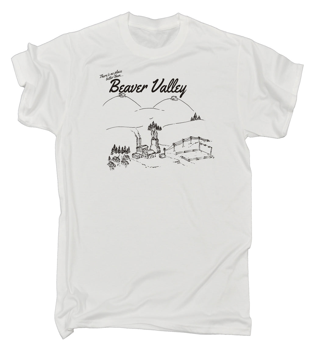 123t Men's Beaver Valley Funny T-Shirt
