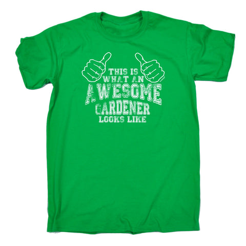 123t Men's This Is What An Awesome Gardener Looks Like Funny T-Shirt