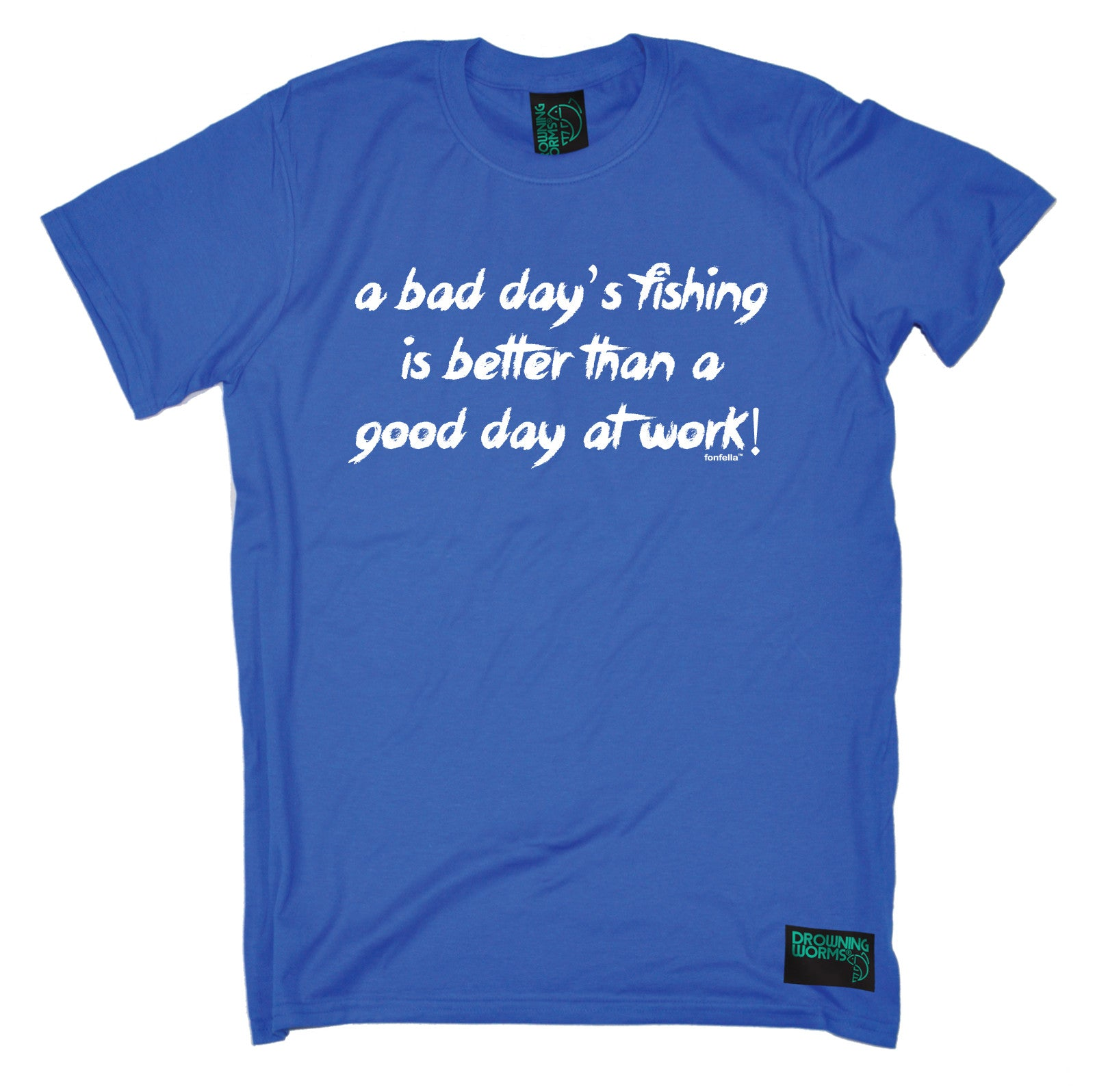 A Bad Days Fishing Better Than Good Day At Work Men T-SHIRT funny birthday gift
