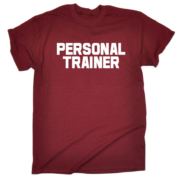 123t Men's Personal Trainer ... Chest & Back Work T-Shirt
