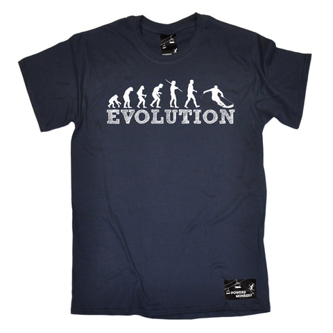 Powder Monkeez Men's Evolution Skiing Ski T-Shirt