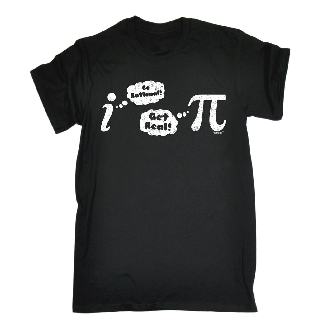 123t Men's Get Real (Pie) Funny T-Shirt