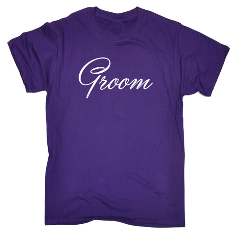 123t Men's Groom Funny T-Shirt