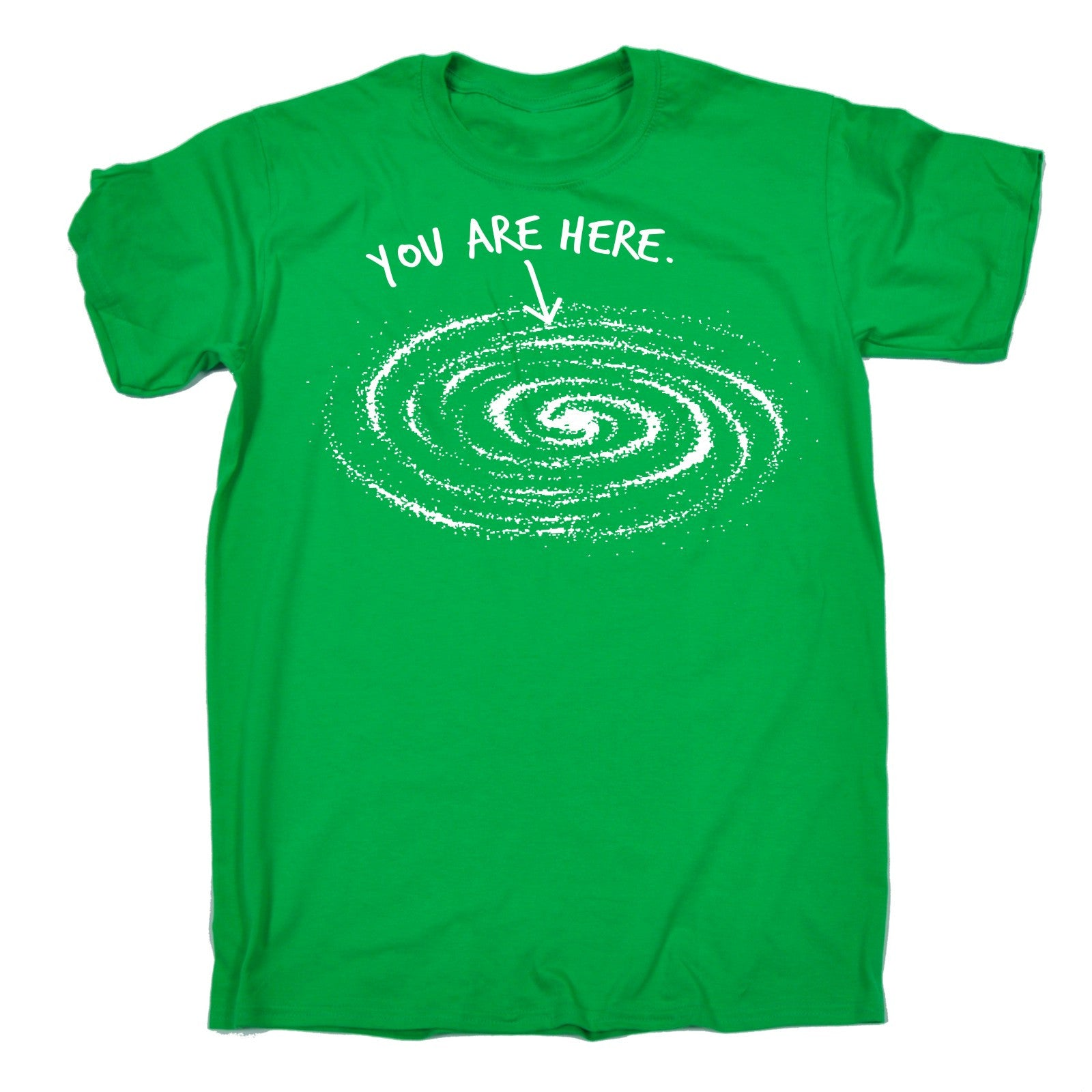 miniature 4 - You Are Here Galaxy Design MENS T-SHIRT tee birthday space solar system funny