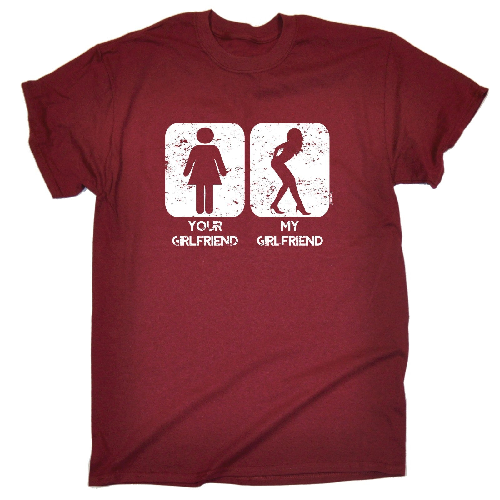 your girlfriend my girlfriend t shirt tee partner funny