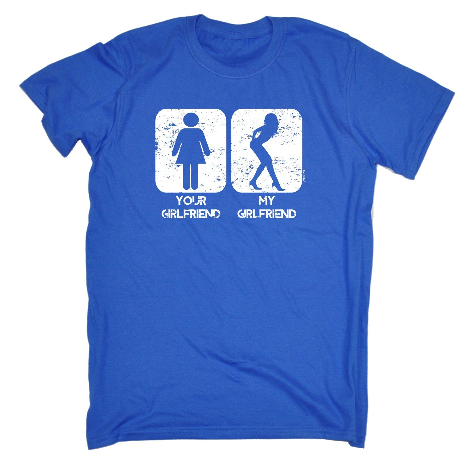 Buy 123t Mens Your Girlfriend My Funny T Shirt At Shirts Hoodies For Only GBP797