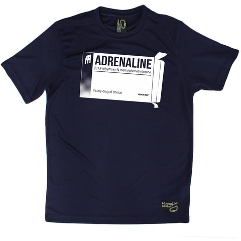 Men's Adrenaline Addict - Adrenaline Drug Of Choice - Premium Dry Fit Breathable Sports T-SHIRT - tee top Rock Climbing Bouldering t shirt Accessories