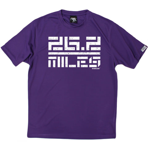 Men's Personal Best - 26.2 Miles - Premium Dry Fit Breathable Sports T-SHIRT - Running jogging fitness gym tee top t shirt fashion clothing accessories