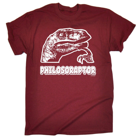 123t Men's Philosoraptor Design Funny T-Shirt