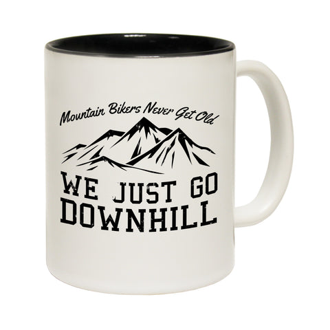 Ride Like The Wind Mountain Bikers ... Downhill Funny Cycling Mug