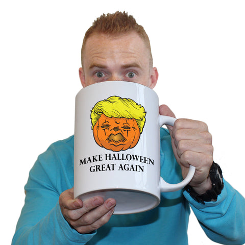 Funny Mugs - Trumpkin - Joke Birthday Gift Birthday Pun GIANT NOVELTY MUG