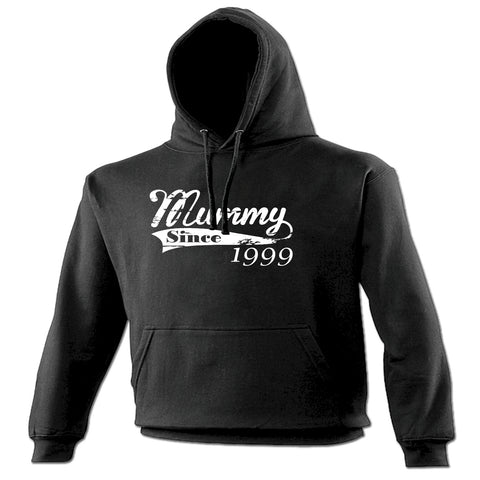 123t Mummy Since ... Any Year Funny Hoodie