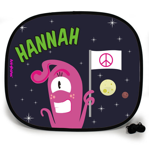 Ani-Mates Outta This World I Come In Peace Personalised UV Protection Fun Vehicle Interior Window Car Sunshade
