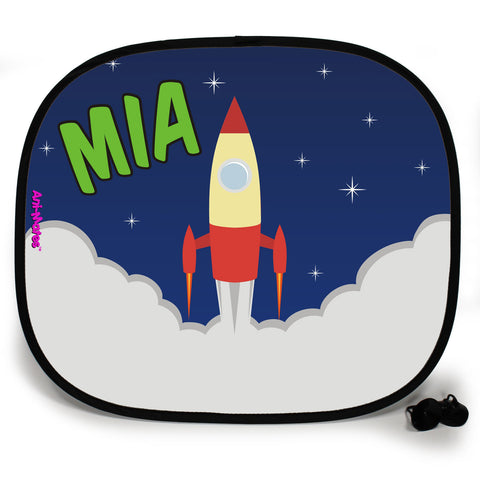 Ani-Mates Outta This World We Have Take-off Personalised UV Protection Fun Vehicle Interior Window Car Sunshade
