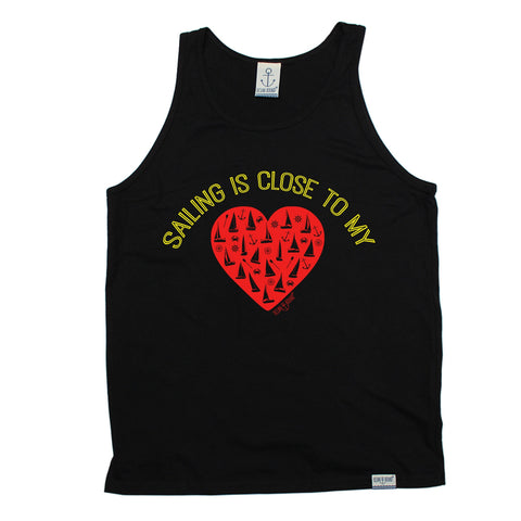 Ocean Bound Sailing Is Close To My Heart Vest Top