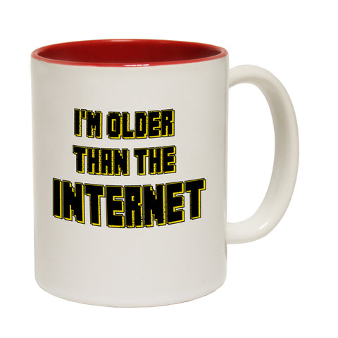 123t I'm Older Than The Internet Funny Mug, 123t Mugs