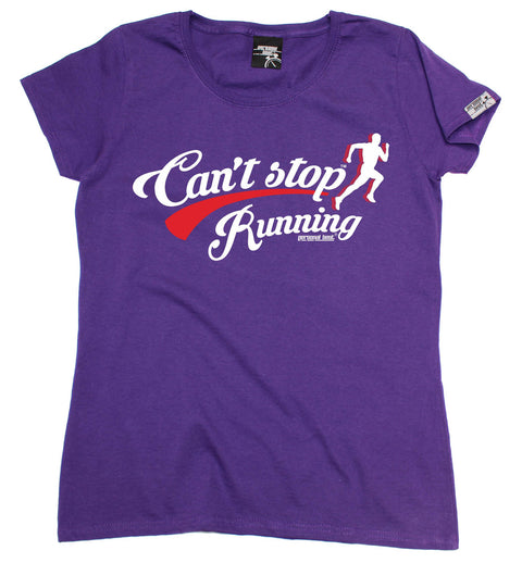 Personal Best Women's Can't Stop Running T-Shirt