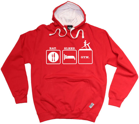 Personal Best Eat Sleep Gym Training Hoodie