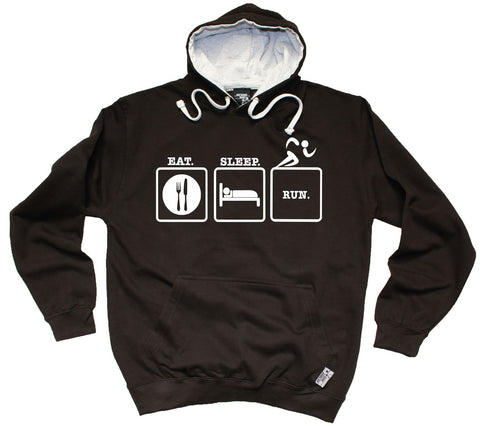 Personal Best Eat Sleep Run Running Hoodie