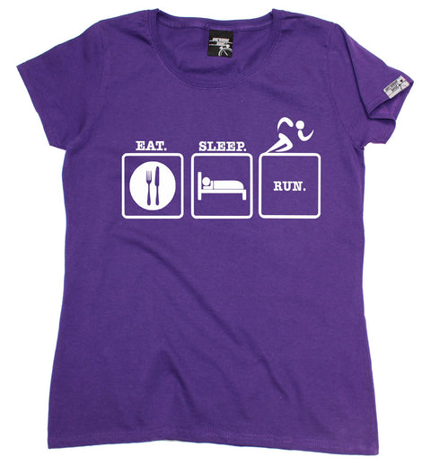 Personal Best Women's Eat Sleep Run Running T-Shirt