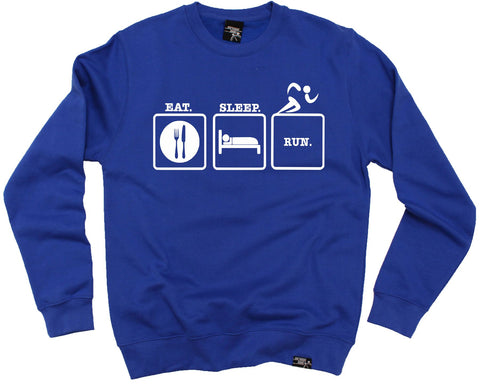 Personal Best Eat Sleep Run Running Sweatshirt