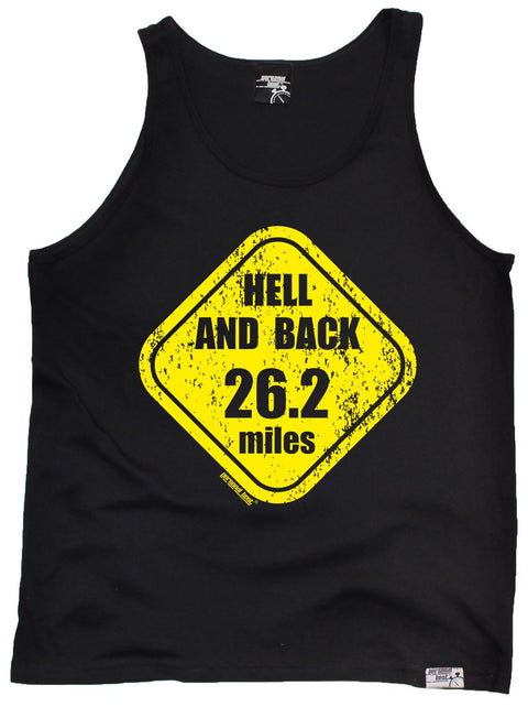 Personal Best Hell And Back 26.2 Miles Running Vest Top