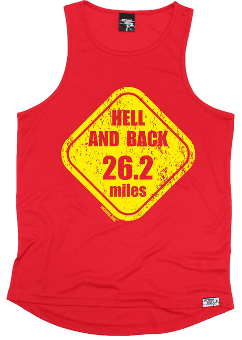 Personal Best Hell And Back 26.2 Miles Running Men's Training Vest