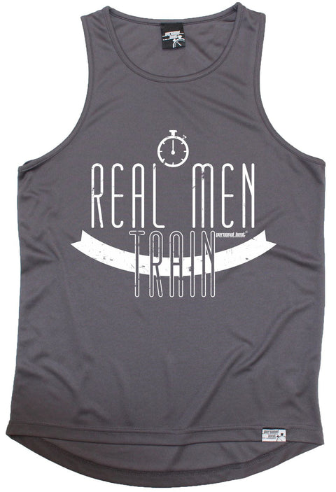 Personal Best Real Men Train Running Men's Training Vest